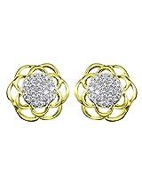 Zaveri Pearls Cubic Zirconia Modern Designer Earring -ZPFK4586