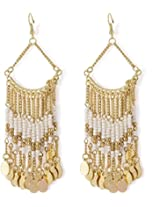 Beads Alloy Dangle Earring