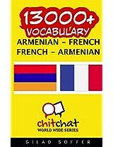 13000+ Armenian - French, French - Armenian Vocabulary