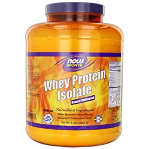 Now Foods WHEY PROTEIN Unflavored/5 lbs AD