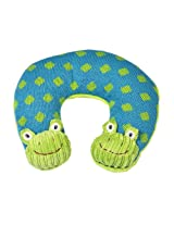 Maison Chic Boy Travel Pillow, Frog
