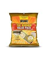 HeatMax Toe Warmers Value Pack (Adhesive) - 6 Pair