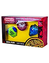 Duncan Toys Hackysack, Butterfly Yoyo, & Top Skill Toy Gift Set