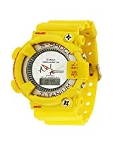 Evelyn Analogue-Digital White Dial Boys Watch - YG-058