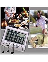 Magnetic Digital Large LCD Kitchen Food Cooking Timer Kitchen Measuring Tool