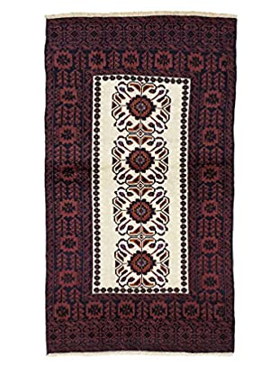 Darya Rugs Persian One-of-a-Kind Rug, Red, 3' x 5' 1
