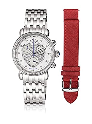 Gevril Uhr mit schweizer Quarzuhrwerk Woman Marsala 37 mm