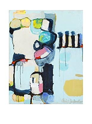 """Claire Desjardins """"Split Second"""" Embellished Giclée Print"""