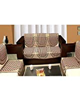 ExpressionHome 6 piece mahroon sofa and chair cover set