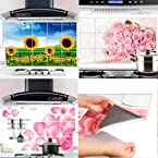 Kitchen Tools Kitchen Wall Cover Stickers Water Proof, Oil Proof and Hot Proof Aluminum Foil