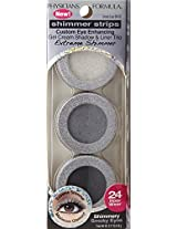 Physicians Formula Shimmer Strips Gelcream Shadow And Liner Trio # 6410 Smoky Eyes (Pack Of 2)