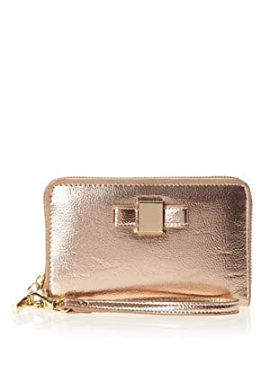 Ivanka Trump Women's Blair Metallic Smartphone Wristlet Wallet (Bliss)