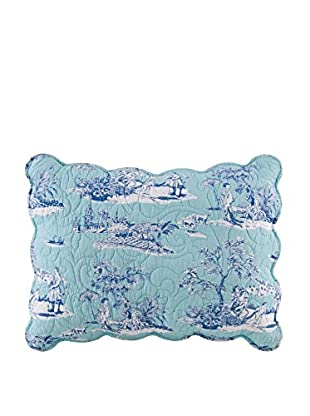 Hampstead Toile Standard Sham, Blue Multi