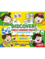 Frank Discover Early Learner Pack 3, Multi Color