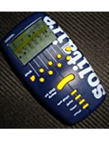 Pocket SOLITAIRE ELECTRONIC HANDHELD GAME (1998 Edition WITH TIMER FEATURE)