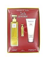 5 Th Avenue By Elizabeth Arden Gift Set 4.2 Oz Eau De Parfum Spray + .12 Oz Mini + 3.3 Oz Body Lotion (Women)
