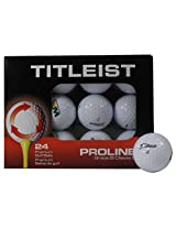 Titleist B Grade Recycled Golf Balls (24-Pack), Assorted