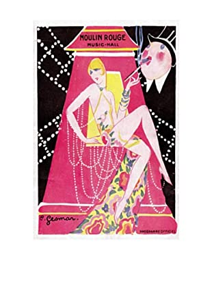 Moulin Rouge Music Hall Giclée Canvas Print