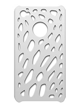 Blautel iPhone 4/4S Carcasa Protectora Semi Rígida Spider Blanco