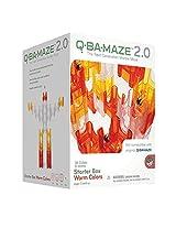 Mindware Q-BA-MAZE 2.0 Starter Box: Warm Colors, Multi Color
