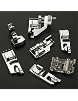 Lowest Price New Domestic Sewing Machine Presser Foot Feet Kit Set 32pcs Janome.