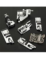 Lowest Price New Domestic Sewing Machine Presser Foot Feet Kit Set 32pcs Janome.