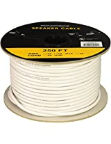 Monoprice 104042 250' 16AWG CL2 Rated 4-Conductor Loud Speaker Cable