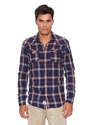 Pepe Jeans London Camisa Knight (Azul / Blanco / Rojo)