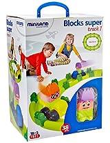 Miniland #1 BlocksSuper Track Set