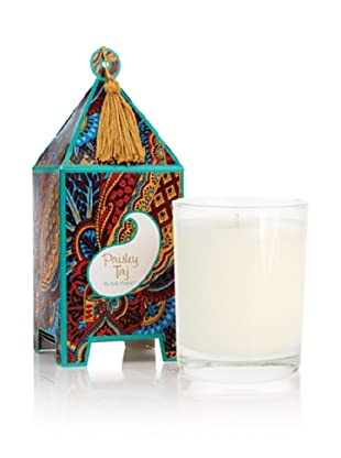 Seda France Paisley Taj Pagoda Box Candle, 10-Oz.