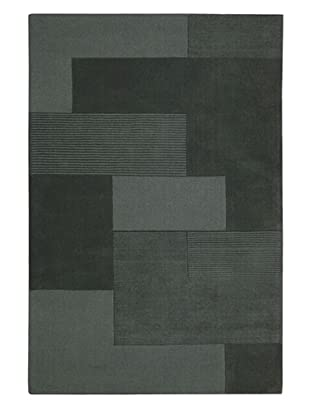 Calvin Klein Bowery GRID Rectangle Rug (Atlantic)