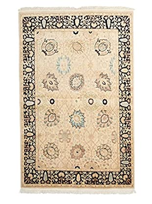 Solo Rugs Mogul One-of-a-Kind Rug, Light Beige, 4' 1