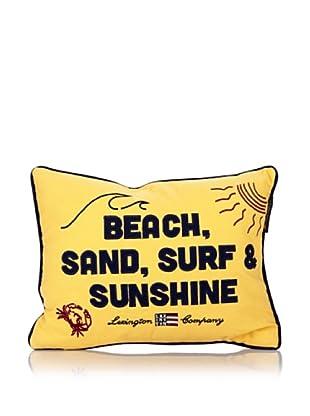 Lexington Company Cojín Beach And Surf (Amarillo)