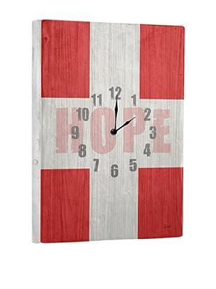 Hope Reclaimed Wood Clock