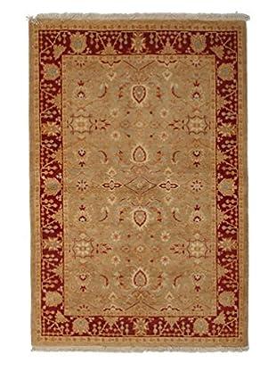 Darya Rugs Ottoman Oriental Rug, Red, 4' 3