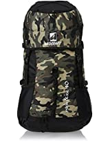 Wildcraft Rock and Ice Camo Brown 40 Ltrs Brown Rucksack (8903338019725)