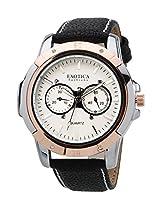 Exotica White Dial Analogue Watch for Men (EFG-05-TT-DM-W)