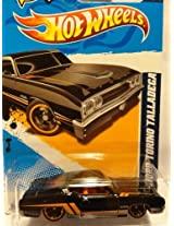 2012 Hot Wheels 69 Ford Torino Talladega Muscle Mania 1 Of 10 And 111/247 With Scan & Track On Back