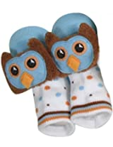 Rattle Socks Owl Blue By Stephan Baby By Stephan Baby