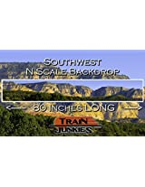 Train Junkies Southwest Railroad Backdrop N Scale