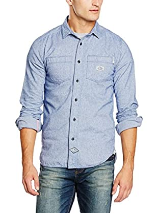 Superdry Camicia Denim Flannel Riveter