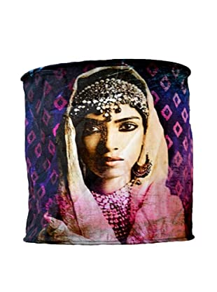 Modelli Creations Journey of India Woman's Face Lamp Shade