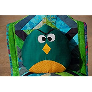 Angry Bird Shaped Cushion