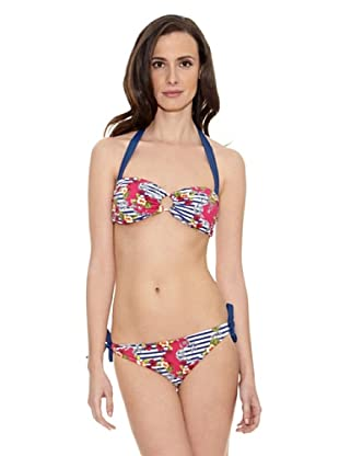 Cortefiel Bikini Estamp70 Band Extraibl (Multicolor)