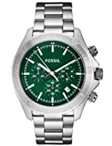 Fossil Retro Traveler Chronograph Green Dial Men's Watch - CH2867