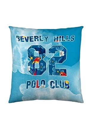Beverly Hills Polo Club Kissenhülle (blau)