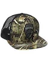 Metal Mulisha Men's Club Snapback Hat, Grey, One Size