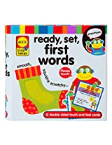 ALEX Toys Little Hands Ready, Set, Touch and Feel Flash Cards, First Words