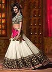 Nairiti Fashions Bollywood Replica Chitrangada Green Color Silky Net Fabric Party Wedding Wear Designer Lehenga Choli