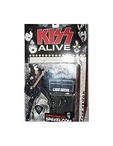 2000 McFarlane Toy KISS SERIES 4 ALIVE Demon Gene Simmons Figure w Guitar & Amp